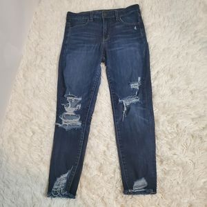 American Eagle Hi-rise jegging crop 8 short